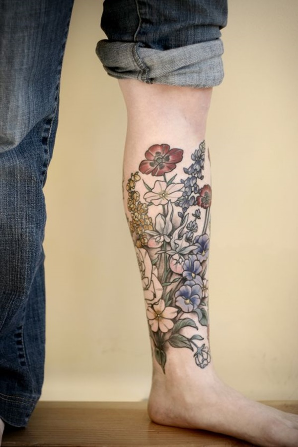 calf tattoo designs (20)