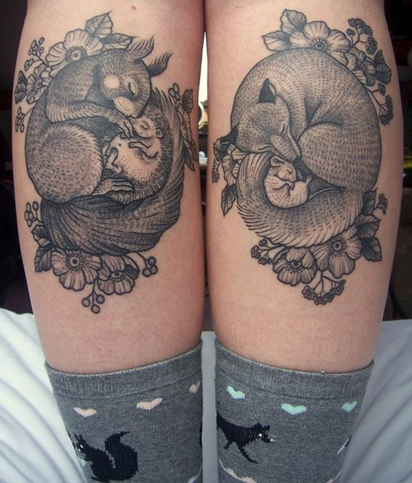 calf tattoo designs (41)