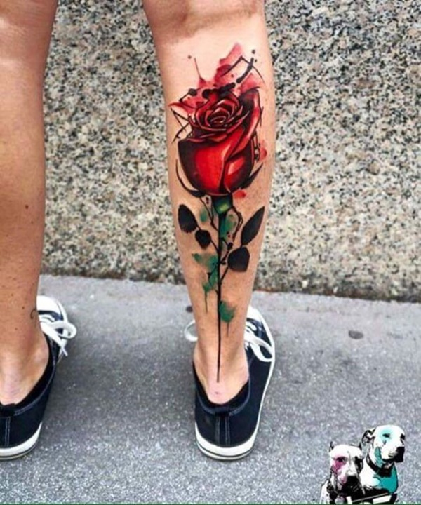 calf tattoo designs (43)