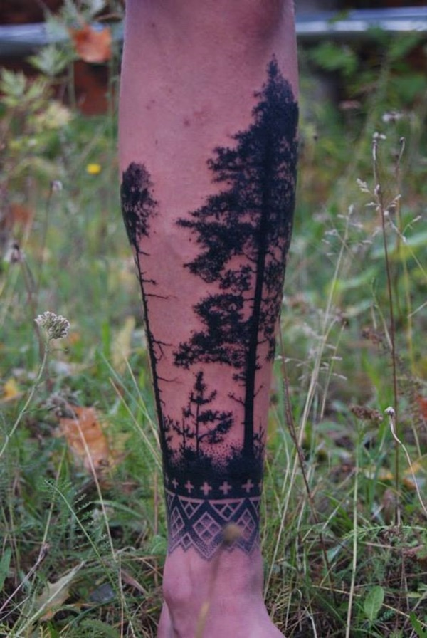 calf tattoo designs (54)