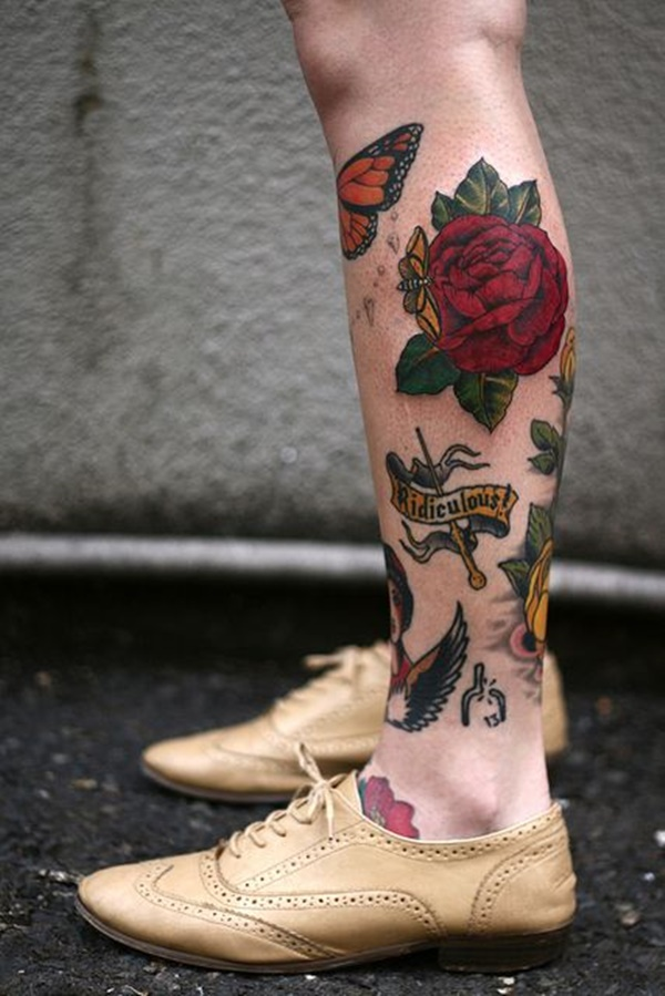 calf tattoo designs (55)