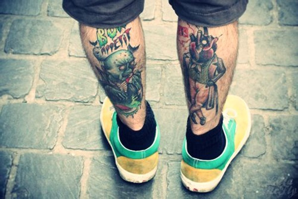 calf tattoo designs (58)