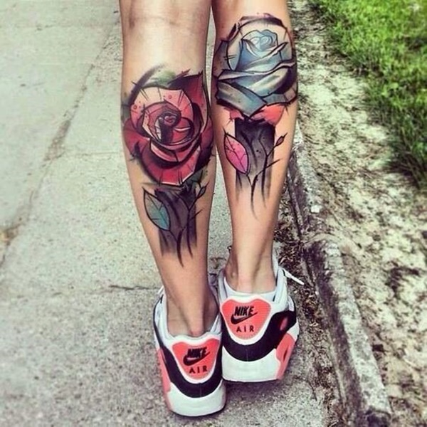 calf tattoo designs (59)