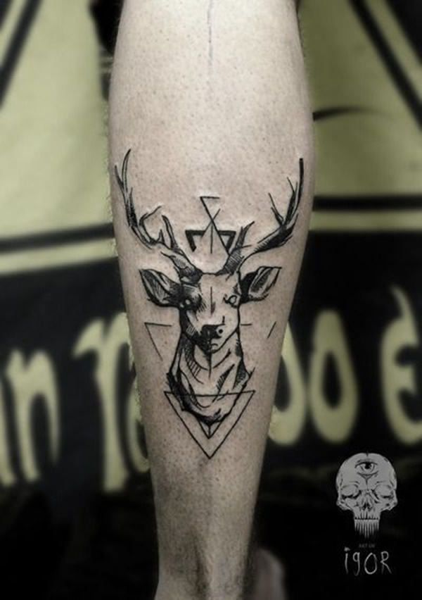 calf tattoo designs (62)