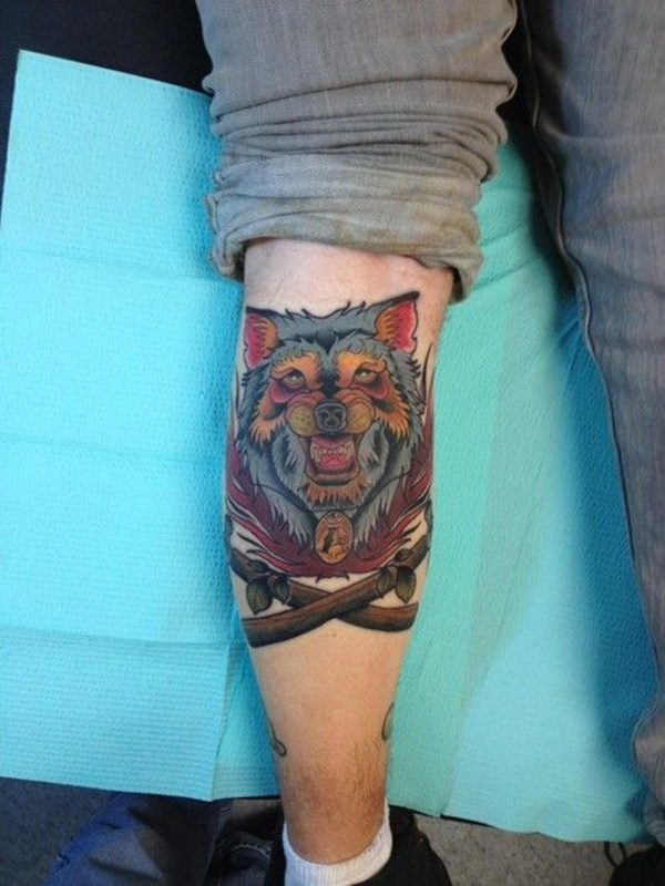 calf tattoo designs (64)