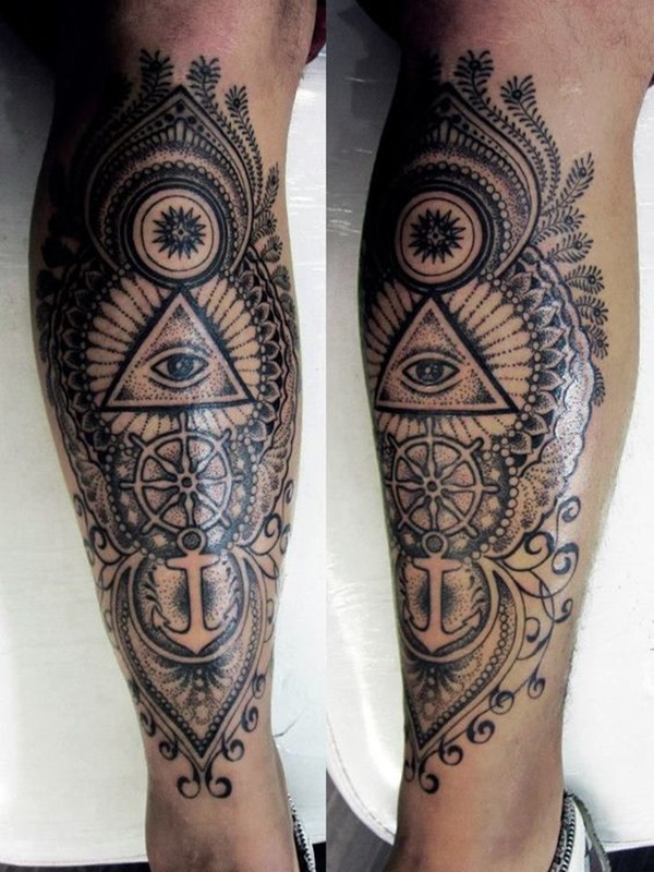calf tattoo designs (82)