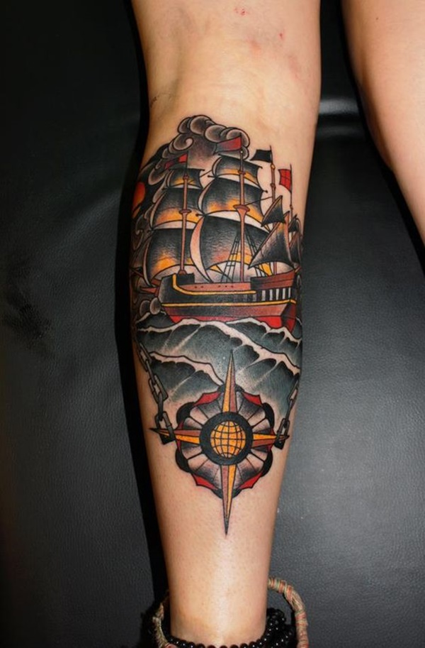 calf tattoo designs (88)