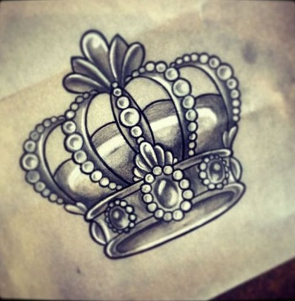 101 crown tattoo designs fit for royalty