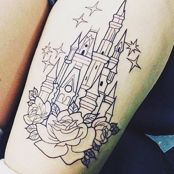 top 100 disney tattoo ideas that evoke nostalgia. Black Bedroom Furniture Sets. Home Design Ideas