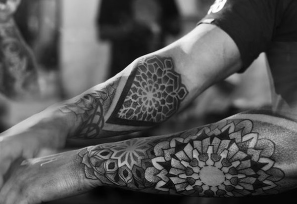 dotwork tattoo ideas (75)