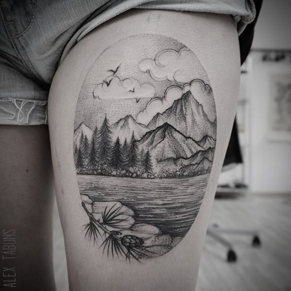 dotwork tattoo ideas (81)