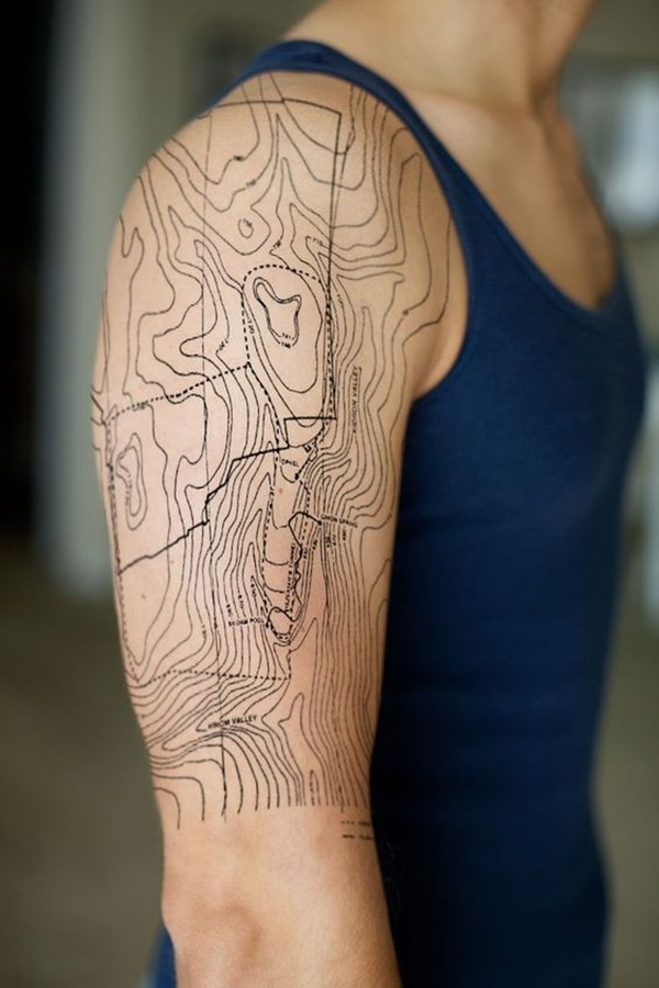 map tattoo designs (13)