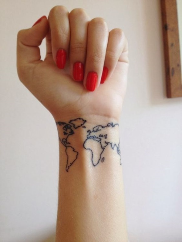 map tattoo designs (14)