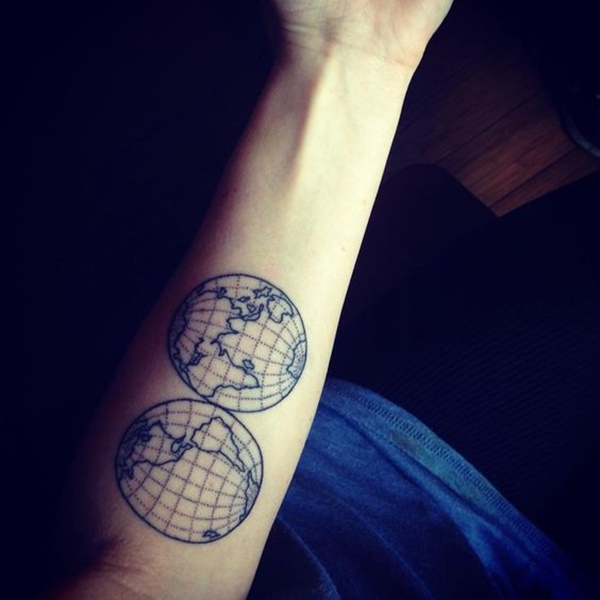 map tattoo designs (15)