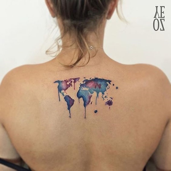 map tattoo designs (34)