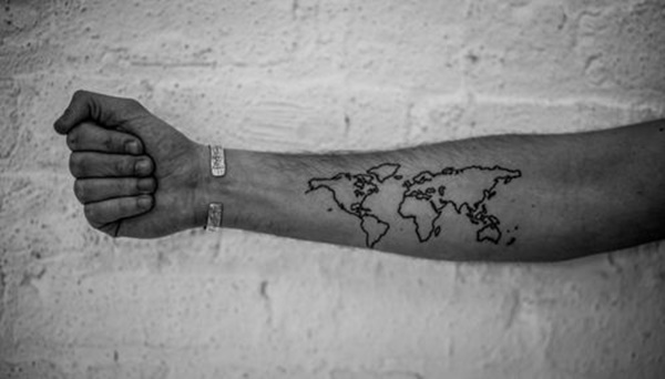 map tattoo designs (38)
