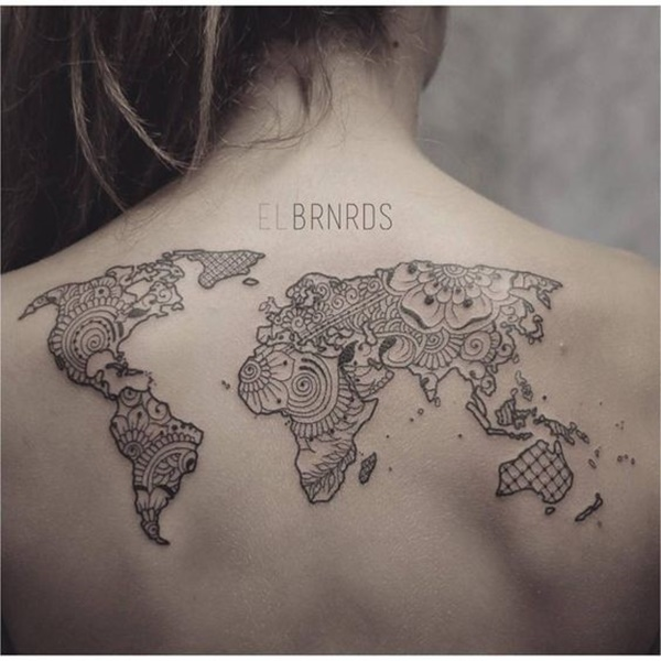 map tattoo designs (55)