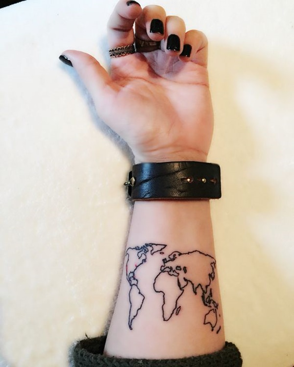 map tattoo designs (65)