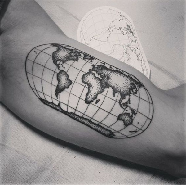 map tattoo designs (75)