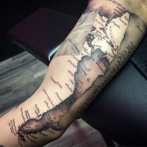 map tattoo designs (79)