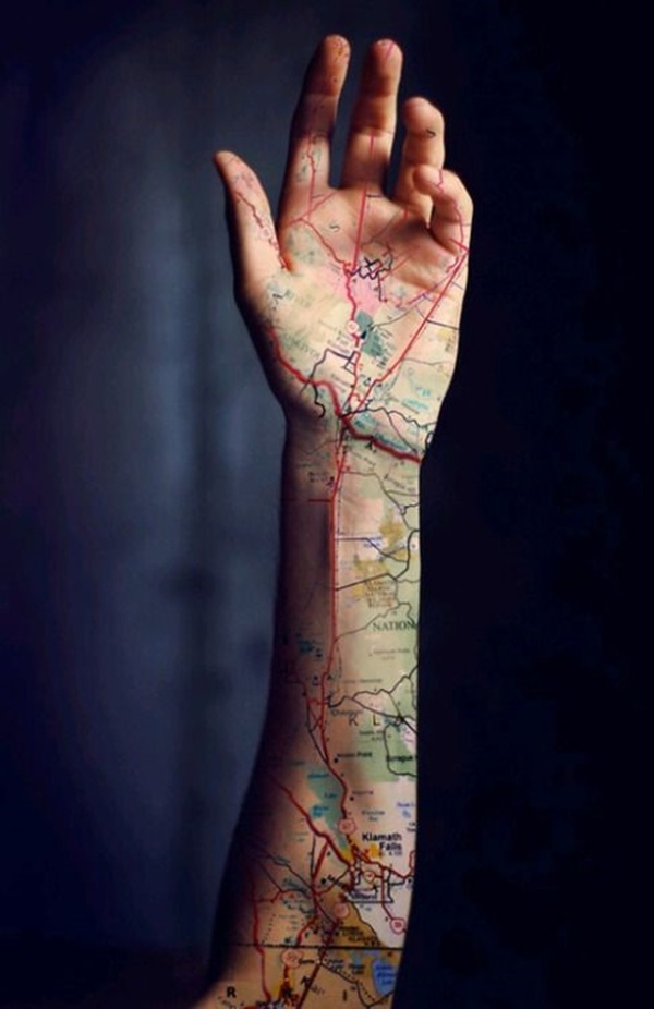 map tattoo designs (9)