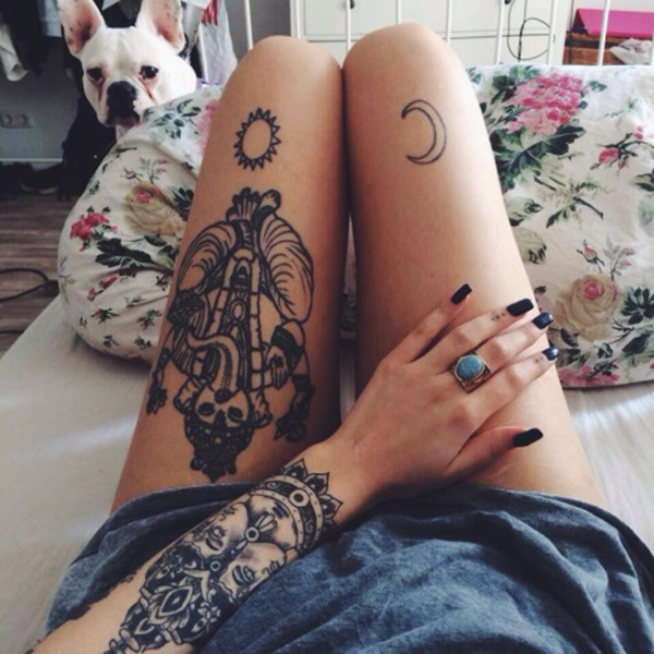 moon tattoo designs (105)
