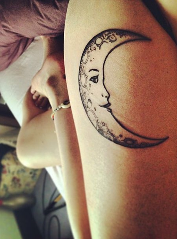 moon tattoo designs (59)
