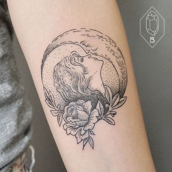 moon tattoo designs (71)