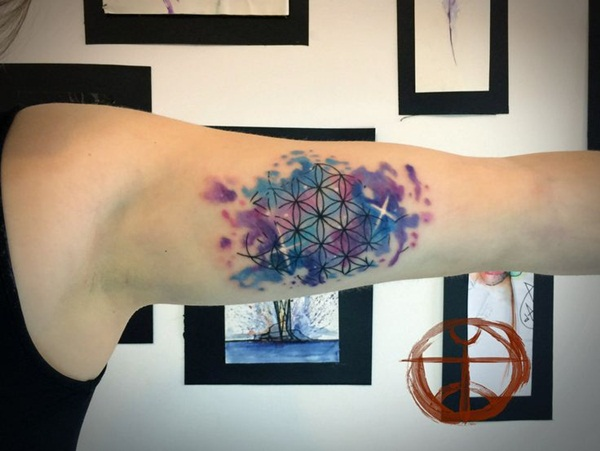 Artisticly Rich watercolor tattoo Designs (1)