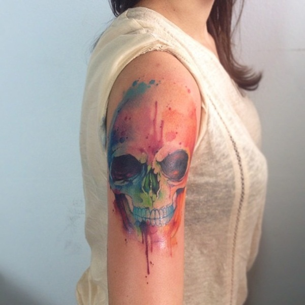 Artisticly Rich watercolor tattoo Designs (103)