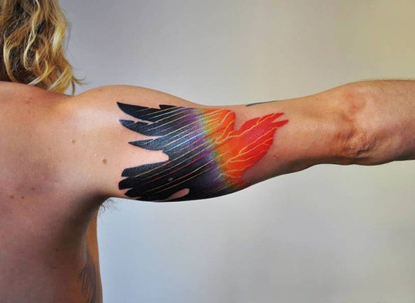 Artisticly Rich watercolor tattoo Designs (119)