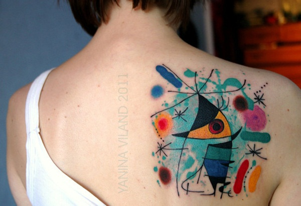 Artisticly Rich watercolor tattoo Designs (122)