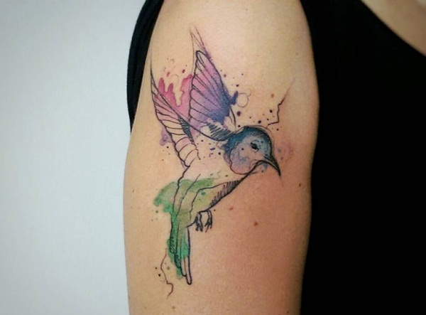 Artisticly Rich watercolor tattoo Designs (126)