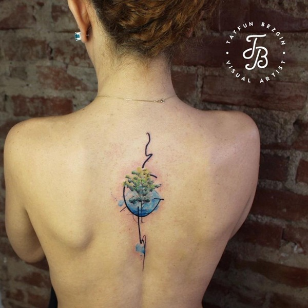 Artisticly Rich watercolor tattoo Designs (133)