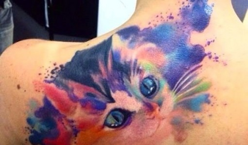 Artisticly Rich watercolor tattoo Designs (145)