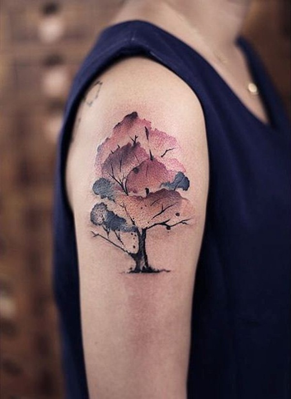 Artisticly Rich watercolor tattoo Designs (173)