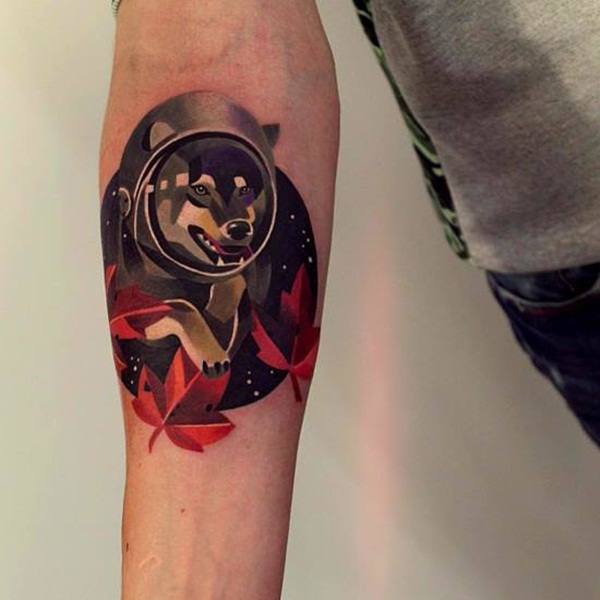 Artisticly Rich watercolor tattoo Designs (178)