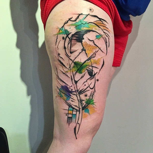 Artisticly Rich watercolor tattoo Designs (98)