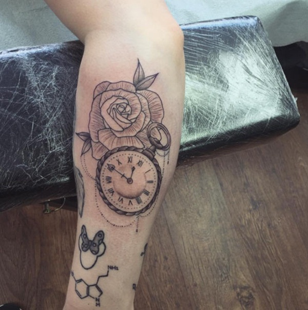 Best Time Tattoos You can't Miss (10)
