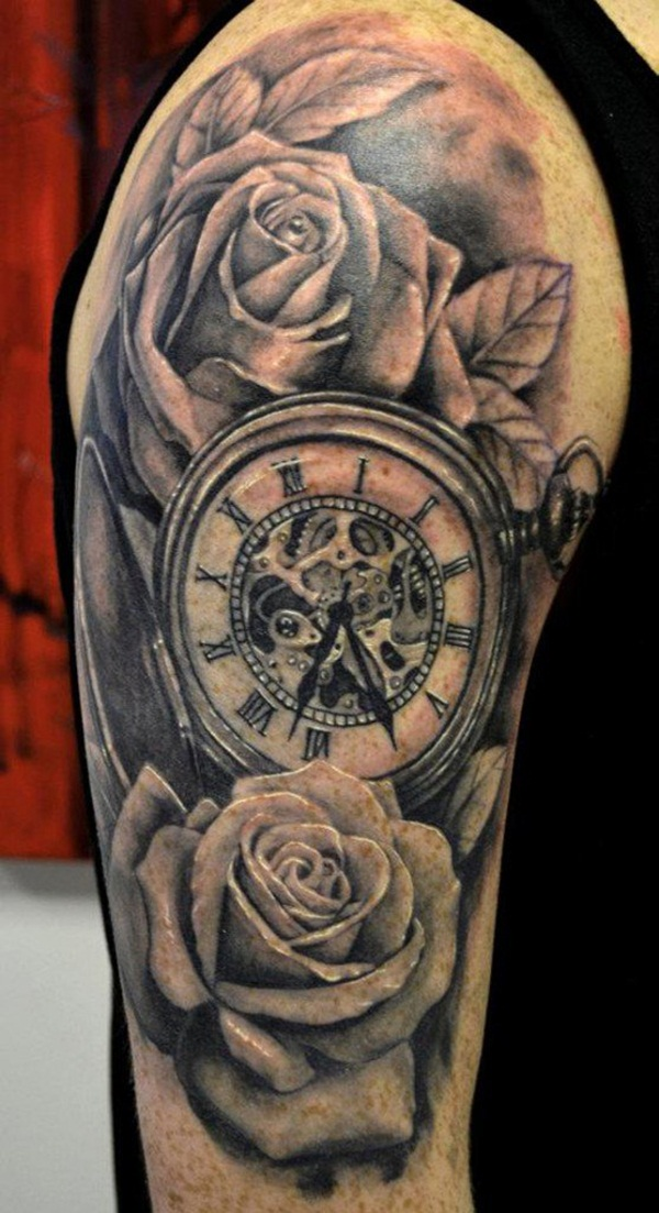 Best Time Tattoos You can't Miss (11)