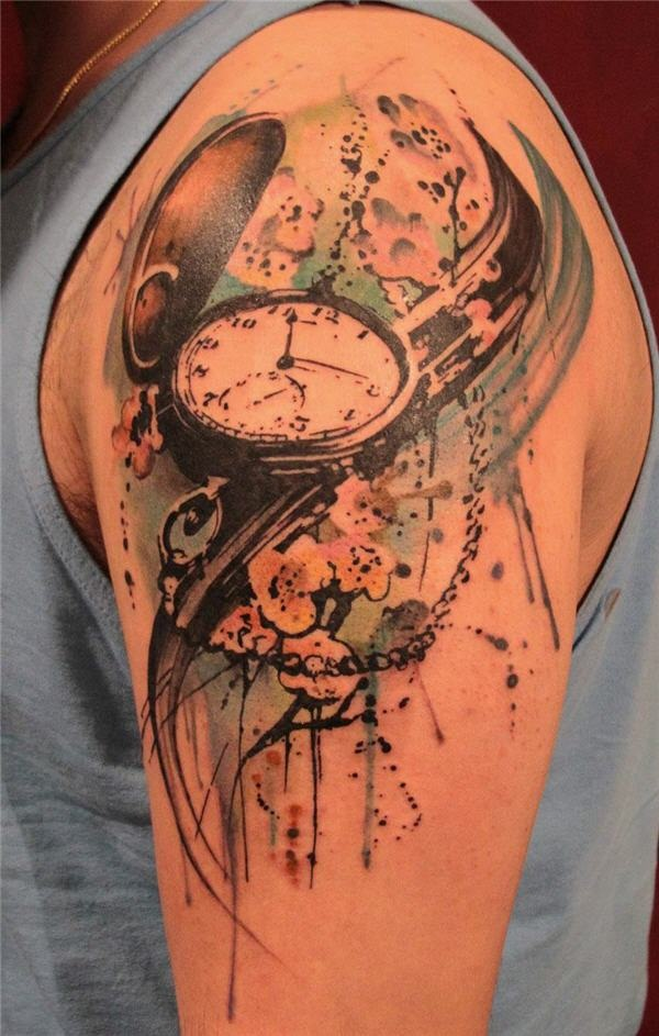 Best Time Tattoos You can't Miss (12)