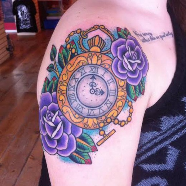 Best Time Tattoos You can't Miss (17)