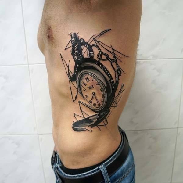 Best Time Tattoos You can't Miss (20)