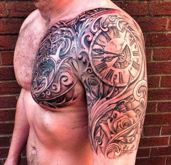 Best Time Tattoos You can't Miss (22)