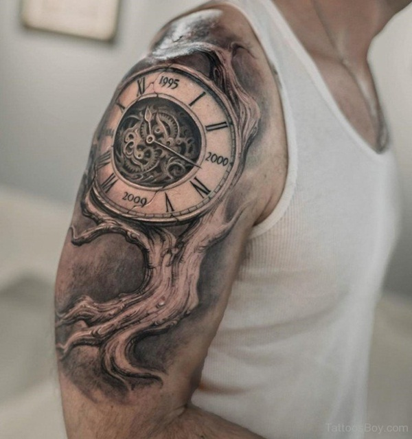Best Time Tattoos You can't Miss (24)