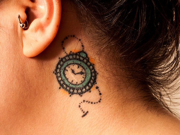 Best Time Tattoos You can't Miss (29)