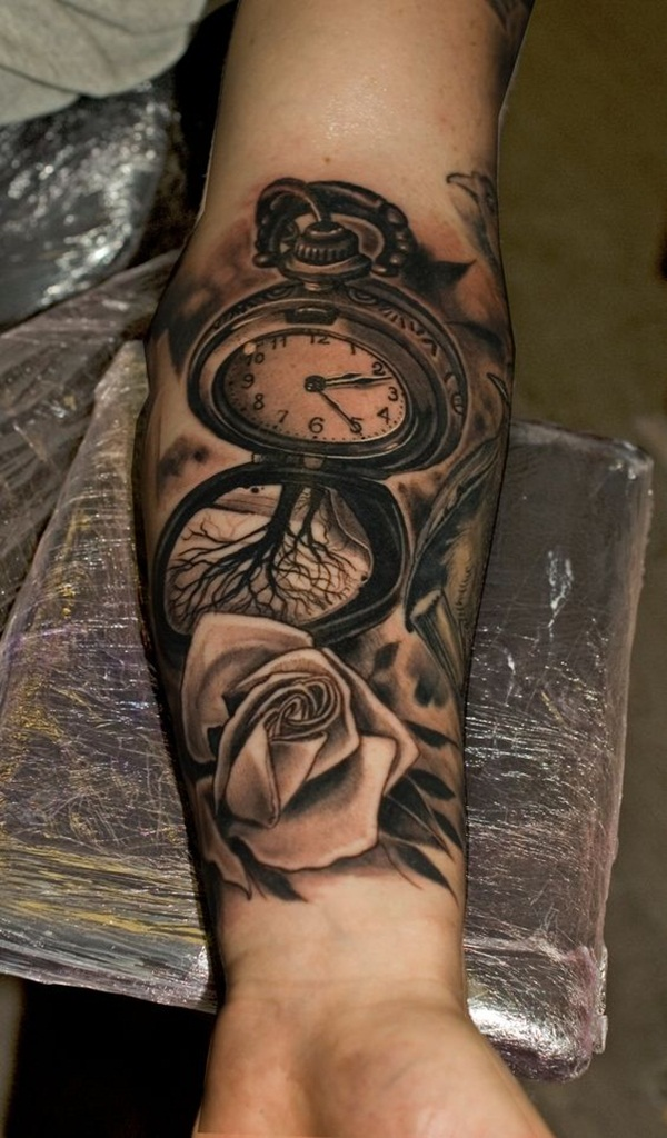 0831dbf059332 90 Best Time Tattoos That Never Go Out of Style