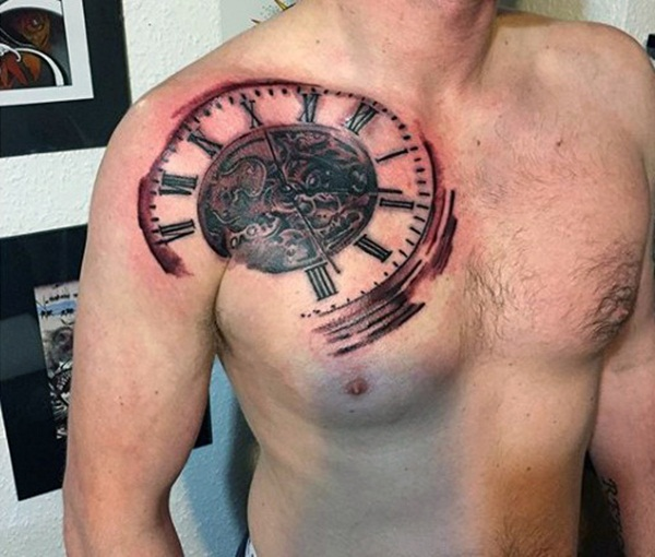 Best Time Tattoos You can't Miss (31)