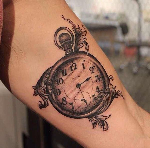 Best Time Tattoos You can't Miss (35)