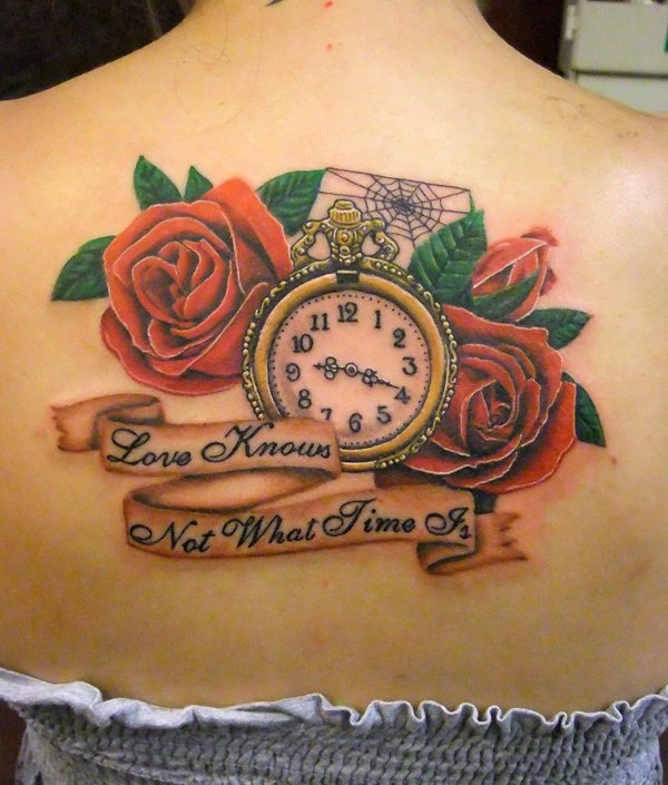 Best Time Tattoos You can't Miss (5)